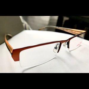 72b7b1695e7 ALAIN Mikli Half Framed Glasses-Unisex